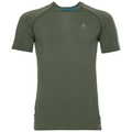 Herren PERFORMANCE WARM Funktionsunterwäsche T-Shirt, climbing ivy - agave green, large