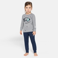 Set ACTIVE WARM ECO TREND KIDS, diving navy - grey melange - graphic FW20, large