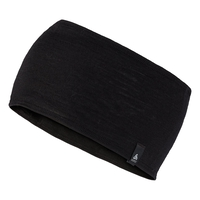Headband Natural 100 % MERINO Warm, black, large