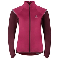 ZEROWEIGHT logic running jacket, sangria - zinfandel, large