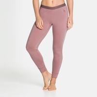 Women's NATURAL 100% MERINO WARM Baselayer Pants, woodrose, large