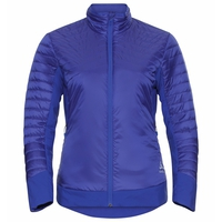 Gevoerde COCOON S-THERMIC LIGHT-jas voor dames, clematis blue, large