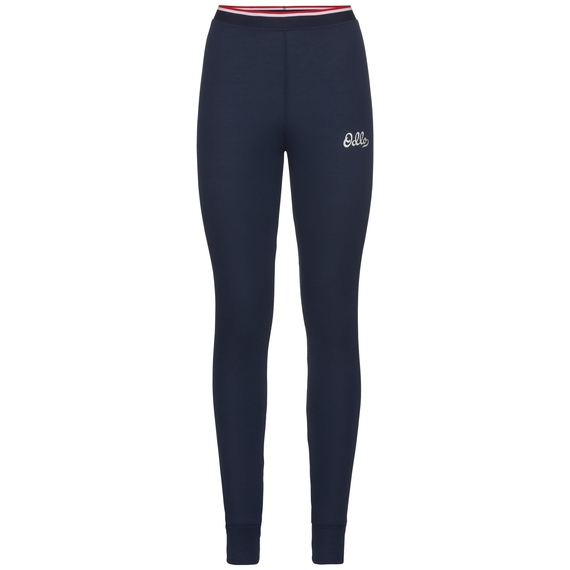 ACTIVE WARM ORIGINALS-basislaagbroek voor dames, diving navy, large