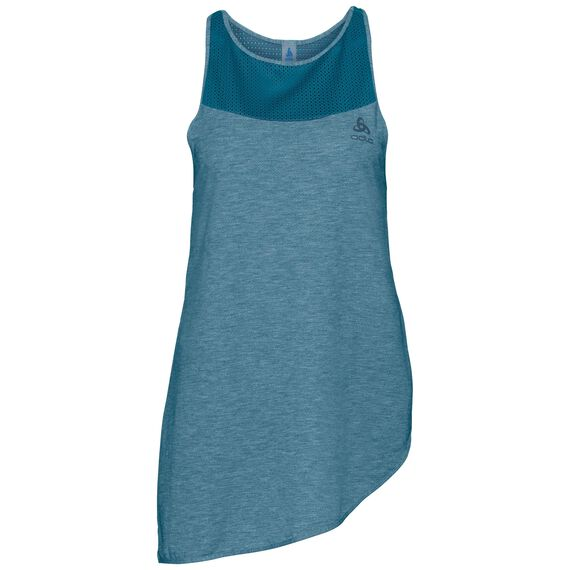 BL TOP Crew neck Singlet MAIA, crystal teal, large