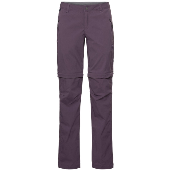 Damen WEDGEMOUNT Zip-Off Hose, vintage violet, large
