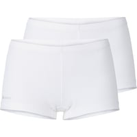 Women's ACTIVE CUBIC LIGHT Sports Underwear Panty 2 Pack, white, large