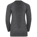 SEAMLESS ELEMENT-top met lange mouwen voor dames, grey melange, large