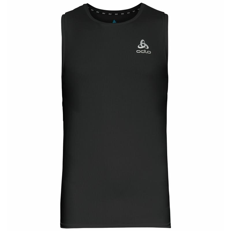 Herren ZEROWEIGHT CHILL-TEC Lauf-Top, black, large