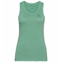 Women's NATURAL + LIGHT Base Layer Singlet, creme de menthe, large