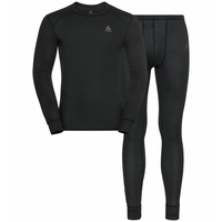Men's ACTIVE WARM ECO Long Baselayer Set, black, large