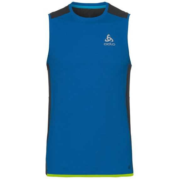 BL TOP OMNIUS F-Dry Tanktop mit Rundhalsausschnitt, energy blue - diving navy, large