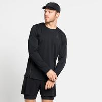 T-Shirt de Running à manches longues ZEROWEIGHT CHILL-TEC BLACKPACK pour homme, black - blackpack, large