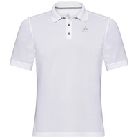 Polo shirt s/s RICHARD RT, white, large