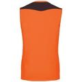 Haut BL sans manches à col ras du cou CeramiCool, orange clown fish - black, large