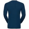 SUW Top Crew neck l/s ACTIVE  Revelstoke Warm, poseidon - blue jewel, large
