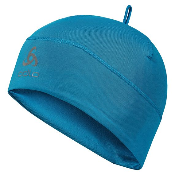 Hat POLYKNIT Warm Kids, blue jewel, large
