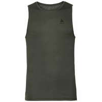 Men's ACTIVE F-DRY LIGHT Base Layer Singlet, climbing ivy, large
