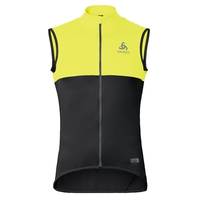 MISTRAL Logic Gilet, safety yellow - black, large