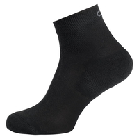 Chaussettes basses ACTIVE QUATER Lot de 2, black, large