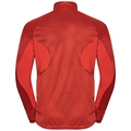 Herren BLAZE Zeroweight Midlayer mit 1/2 Reißverschluss, poinciana - stripes, large