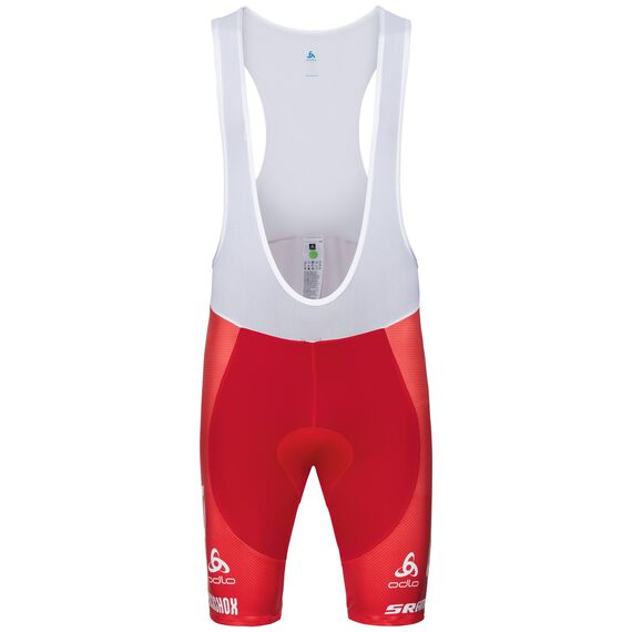 SCOTT-SRAM REPLICA bike bib shorts, Scott Swiss SS18, large