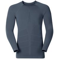 Shirt l/s crew neck GOD JUL, ombre blue, large