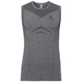 SUW Top Crew neck Singlet PERFORMANCE Light, grey melange, large