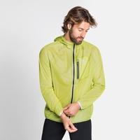 Men's ZEROWEIGHT DUAL DRY Waterproof Jacket, limeade, large