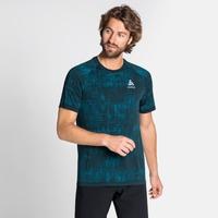 Men's BLACKCOMB PRO T-shirt, tumultuous sea - submerged, large