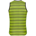 Men's ZEROWEIGHT Cycling Base Layer Singlet, safety yellow - odlo graphite grey, large