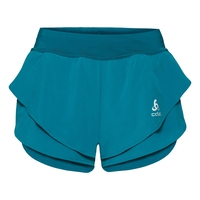 OMNIUS LIGHT Split Shorts, crystal teal, large