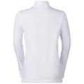 Midlayer 1/2 zip SNOWBIRD KIDS, white, large