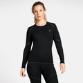 Women's ACTIVE X-WARM Long-Sleeve Base Layer Top, black, large