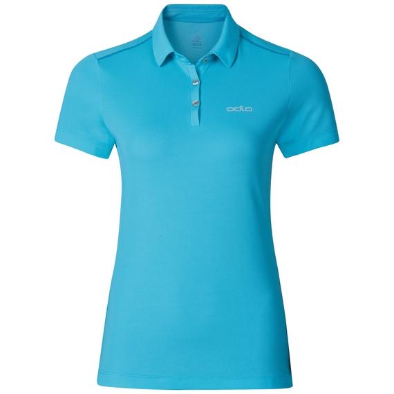 TINA polo shirt, blue atoll, large