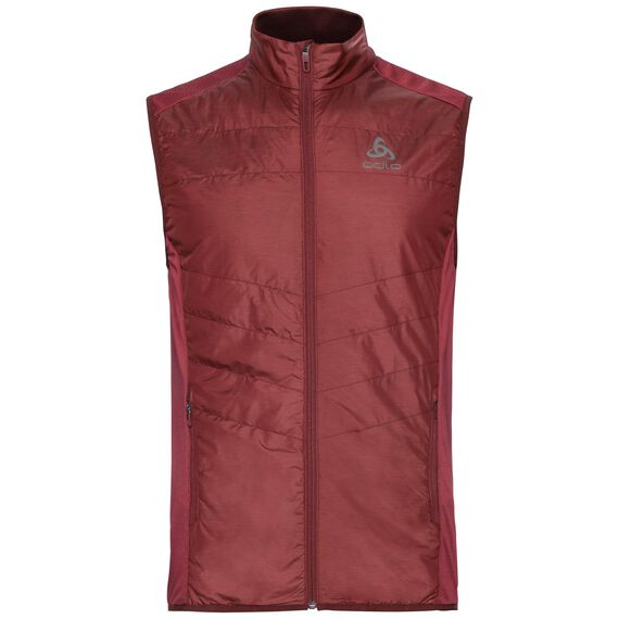 Vest IRBIS HYBRID Seamless X-Warm, syrah - fiery red, large