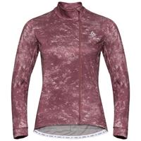 Veste intermédiaire Cycle ZEROWEIGHT CERAMIWARM pour femme, roan rouge - AOP FW19, large