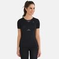 T-shirt de sport PERFORMANCE EVOLUTION pour femme, black - odlo graphite grey, large