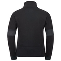 Midlayer 1/2 zip INTO THE MIST, black, large