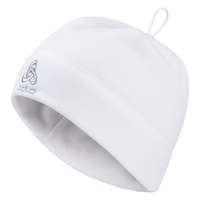 Bonnet MICROFLEECE WARM, white, large