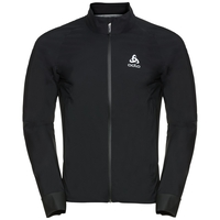 Men's MORZINE RAIN LIGHT Cycling Jacket, black, large