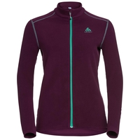 Midlayer full zip LE TOUR, pickled beet, large