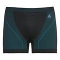 SUW Bottom Boxer PERFORMANCE WINDSHIELD XC Light, black - lake blue, large
