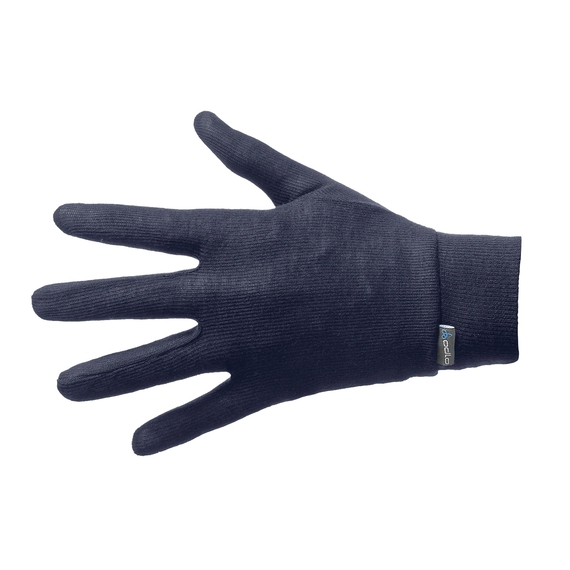 Handschuhe WARM KINDER, navy new, large