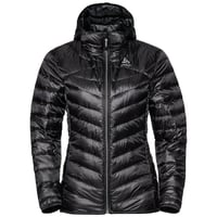 Veste isolante HOODY COCOON N-THERMIC WARM pour femme, black, large