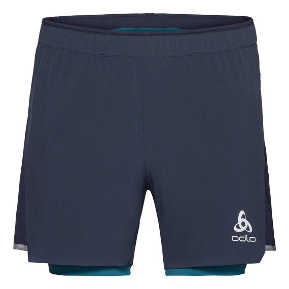2-in-1 Shorts ZEROWEIGHT CERAMICOOL Light, diving navy - blue coral, large
