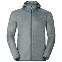Men's WISP WINDPROOF Jacket, silver, large