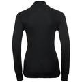 ACTIVE WARM-basislaag met lange mouwen en col voor dames, black, large