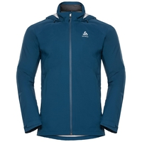 WATERTON STRETCH Hardshell-Jacke, poseidon, large