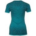 BL Top BLACKCOMB LIGHT kurzärmeliges Oberteil mit Rundhalsausschnitt, crystal teal - pool green, large