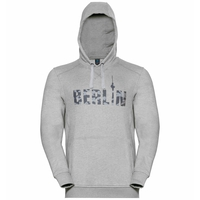 Hoody midlayer SQUAMISH CITY PROGRAM, grey melange Berlin, large